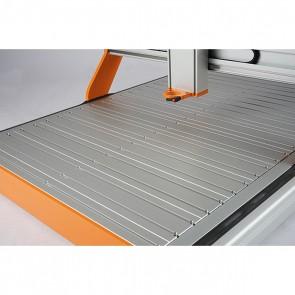 Stół teowy do maszyny z Serii M. 1000