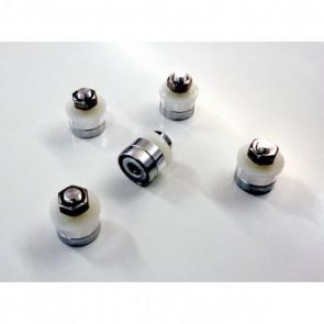 Pięć magnetycznych mocowań do frezowania, grawerowania na sucho i mokro